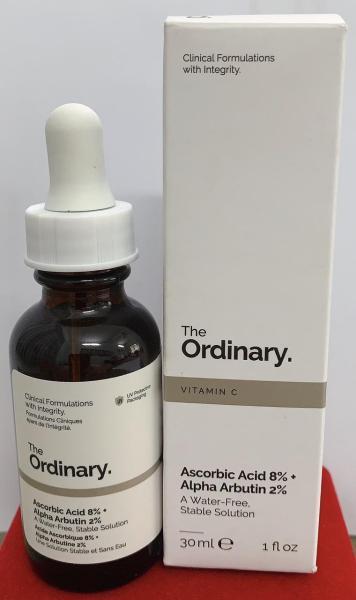 Ascorbic Acid 8% + Alpha Arbutin 2%  (vitamin c chăm sóc da và giảm đốm da) cao cấp