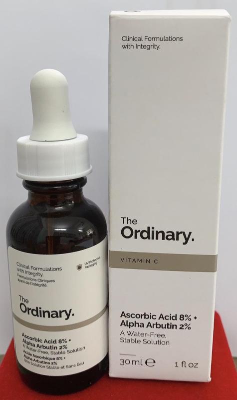 Ascorbic Acid 8% + Alpha Arbutin 2%  (vitamin c chăm sóc da và giảm đốm da)