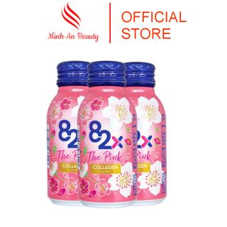 Nước Uống Collagen The Pink 82x Nhật Bản, Collagen Uống Đẹp Da Giúp Cho Da Đẹp Mịn Màng Duy Trì Vóc Dáng Cân Đối Hộp 10 Chai thumbnail