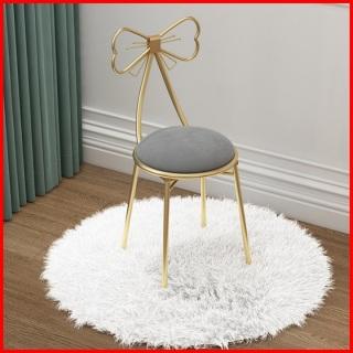 Ghế nơ bàn trang điểm phong cách hàn quốc - Ghế hình chiếc nơ xinh xắc - Ghế nơ bàn trang điểm phong cách Bắc Âu thumbnail