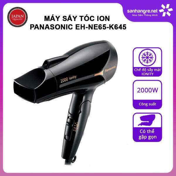 Máy sấy tóc Ion Panasonic EH-NE65-K645 công suất 2000W sản xuất Thái Lan - Hàng chính hãng, bảo hành 12 tháng nhập khẩu