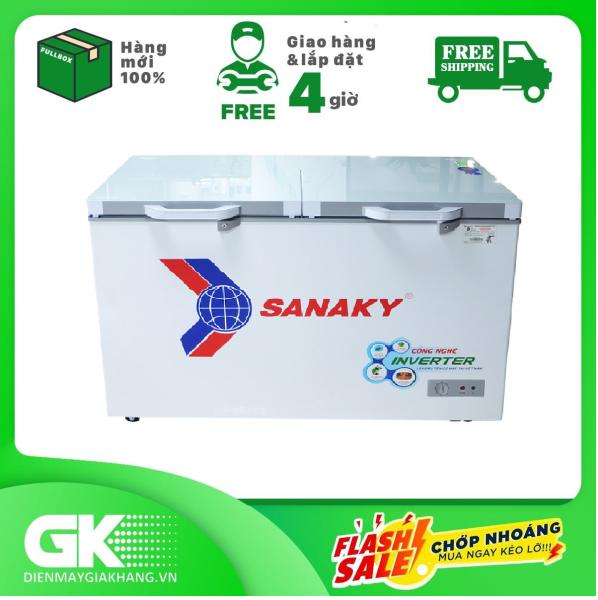 Bảng giá TỦ ĐÔNG INVERTER SANAKY 305 LÍT VH-4099A4K Điện máy Pico