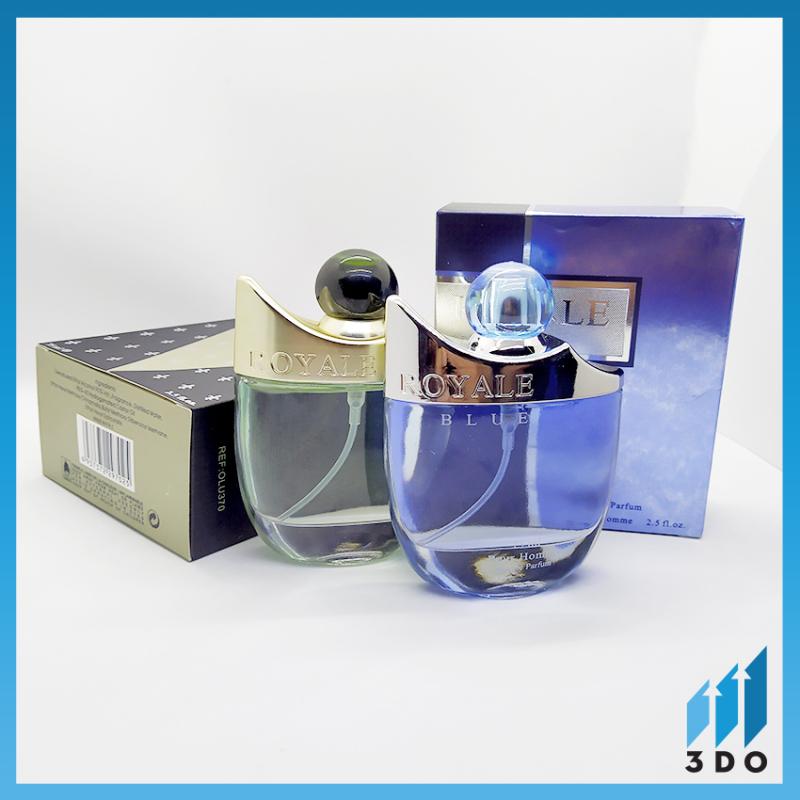 Nước hoa nam cao cấp ROYALE 75ml, phân phối chính hãng bởi 3DO, nước hoa nam vương, mùi hương cô đặc thơm lâu đến 8h, quý phái, lịch lãm.