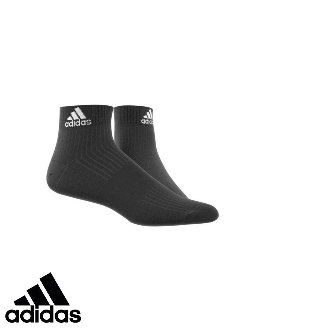 adidas Vớ thể thao cổ ngắn Unisex 3-Stripes Performance Ankle Socks 1 Pair AA2292