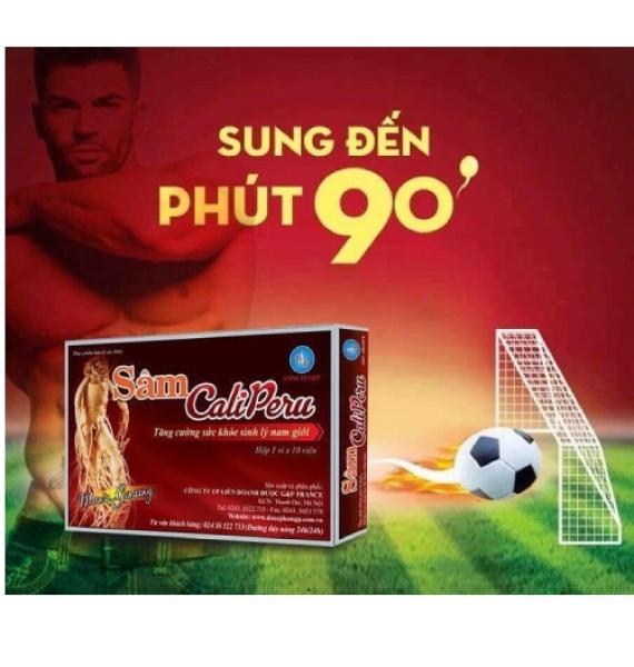 [HÀNG CHÍNH HÃNG] Combo 2 hộp Viên uống tăng cường sinh lý Sâm Caliperu - Tăng cường sức khỏe nam giới