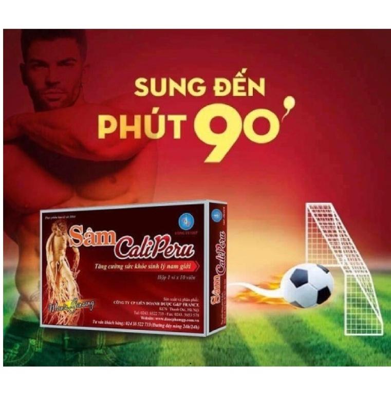 [ 3 hộp] Sâm Caliperu- Bổ thận tráng dương,mạnh gân cốt,tăng sức khỏe sinh lý cho nam giới