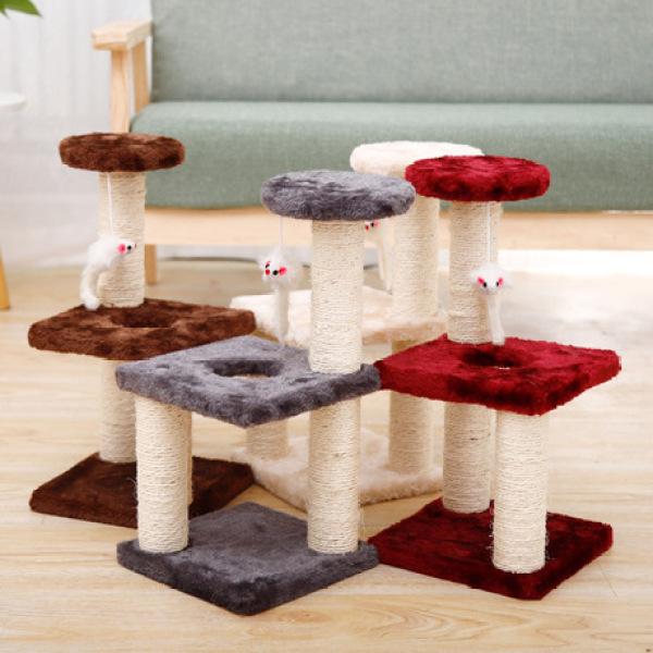 Catree vuông trụ cào móng cho mèo (tháo lắp được), cam kết sản phẩm như hình, cam kết chất lượng