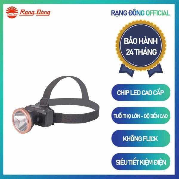 Đèn Pin Led Đội đầu PDD02L 3W Chính hãng Rạng Đông Sử dụng đèn LED chất lượng cao Tuổi thọ dài Thuận tiện sử dụng trong quá trình di chuyển Ít phát nhiệt