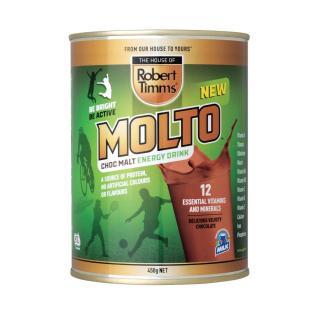 Sữa bột Canxi ca cao Robert Timms Molto Australia 450g giúp tăng trưởng chiều cao, bổ sung Canxi 7