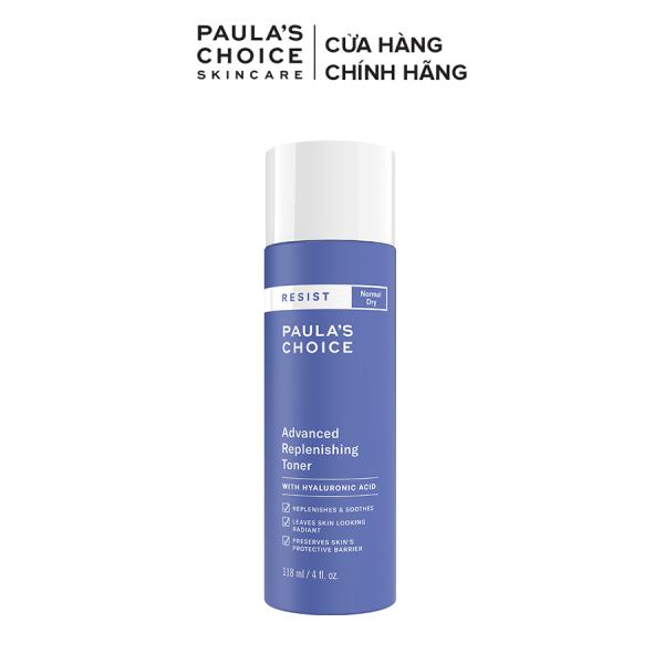 Nước hoa hồng cân bằng bổ sung độ ẩm tức thời Paula's Choice RESIST Advanced Replenishing Toner 118ml-7670 cao cấp