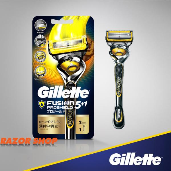 Dao cạo râu 5 lưỡi kép Gillette Fusion 5 + 1 Proshield, hàng nội địa Nhật Bản giá rẻ