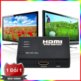 3 Ports HDMI Switch Switcher 3 in 1 out (Intl) thumbnail