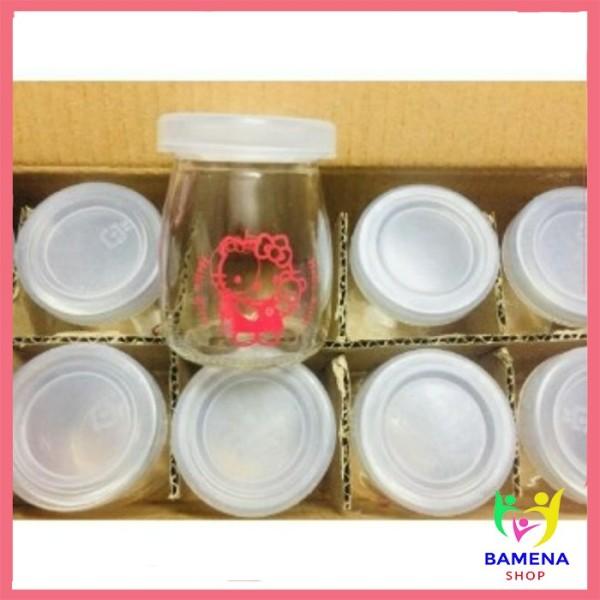 Hũ thủy tinh sữa chua lẻ 100ml (hàng Việt Nam)