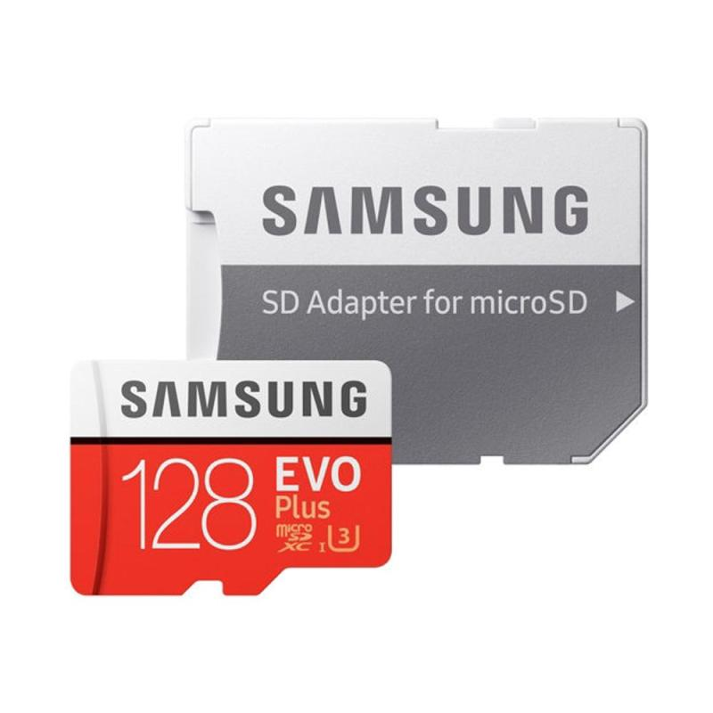 Thẻ nhớ MicroSDXC Samsung EVO Plus 128GB 100MB/s (New 2017) + Adapter