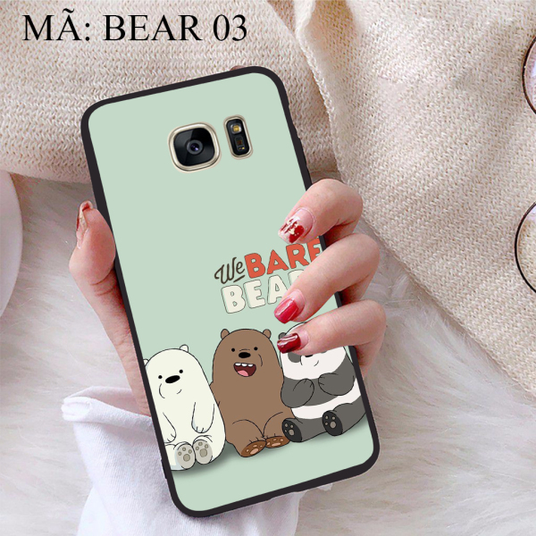 [HCM]Ốp lưng iCase dành cho Samsung Galaxy S7 viền dẻo TPU BST Chúng ta là Gấu