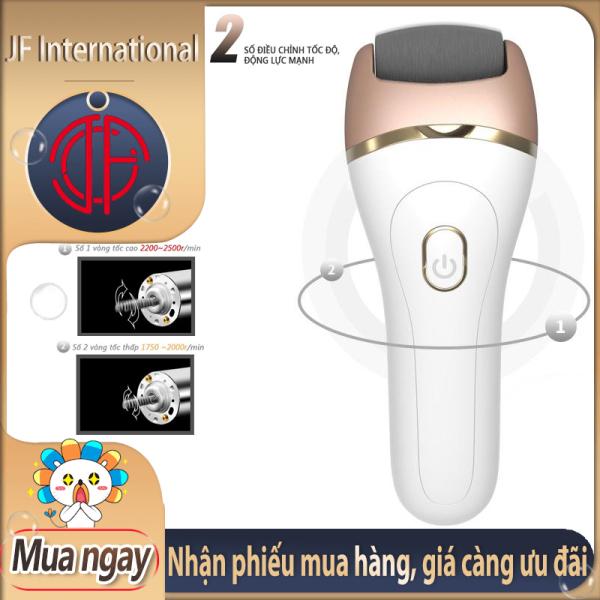 Máy chà gót chân đá chà tẩy tế bào chết ở gót chân Dụng cụ chà gót chân sạc USB - Máy chà gót chân tẩy tế bào chết tiện lợi - JF International