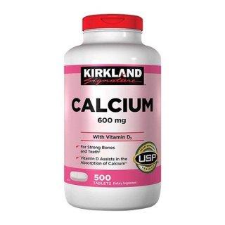 Kirkland Viên Uống Hỗ Trợ Bổ Sung Canxi 600mg & Vitamin D3 Calcium 500 Viên Của Mỹ thumbnail