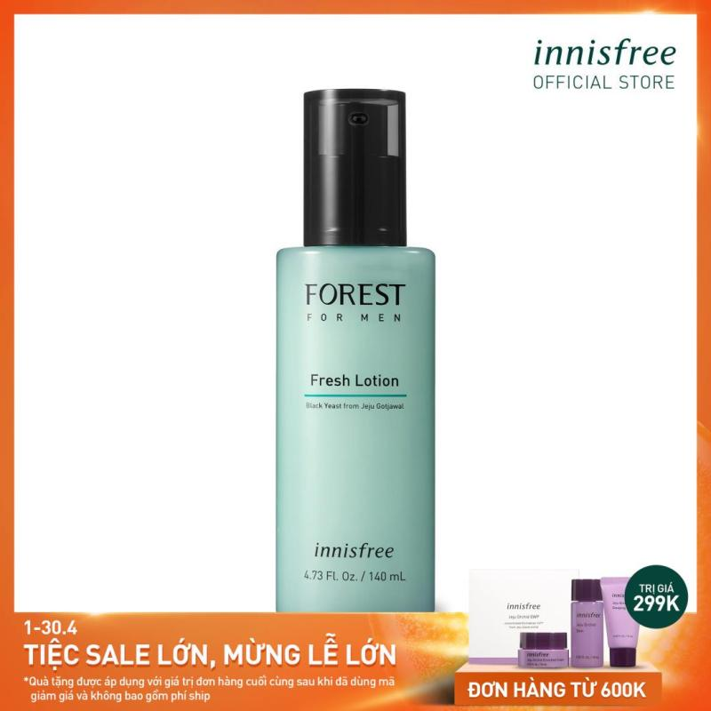 Sữa dưỡng innisfree Forest for men Fresh Lotion 140ml