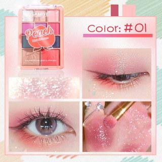 SANIYE Bảng màu đa chức năng Bảng phấn mắt highlighter Phấn má hồng E118 thumbnail