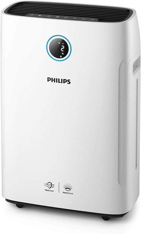 Máy lọc không khí và làm ẩm 2 trong 1 Philips AC2729/10 Series 2000i