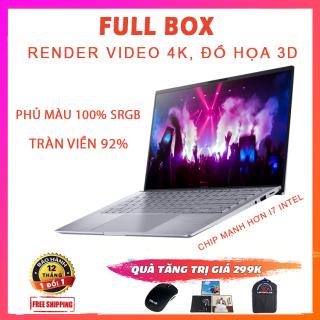 [FULL BOX] Asus Zenbook 14 Q407IQ, Ryzen R5-4500U, RAM 8G, SSD 256G Nvme, VGA NVIDIA MX350-2G, Màn 14 Full HD IPS, Tràn Viền Tới 92% thumbnail