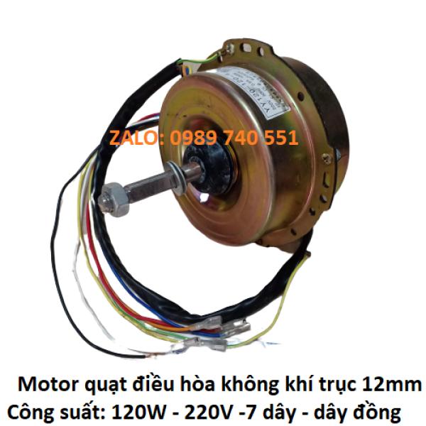Bảng giá Motor quạt điều hòa hơi nước trục 12mm công suất 120w-160w-200w -lõi đồng Điện máy Pico