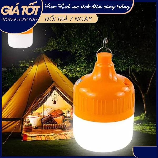 [Gia dụng thông minh] Bóng đèn tích điện 6-8h với 3 chế độ, Đèn Led ánh sáng trắng 30W + 60w, bóng đèn tiết kiệm điện, Đèn Led tích điện ánh sáng trắng ( Quý khách vui lòng chọn công suất phù hợp )