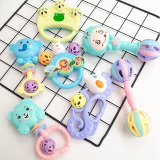 Bộ đồ chơi xúc xắc lục lạc 7 món cho bé sơ sinh, sản phẩm đa dạng về mẫu mã, kích cỡ, chất lượng tốt, đảm bảo an toàn sức khỏe người dùng thumbnail