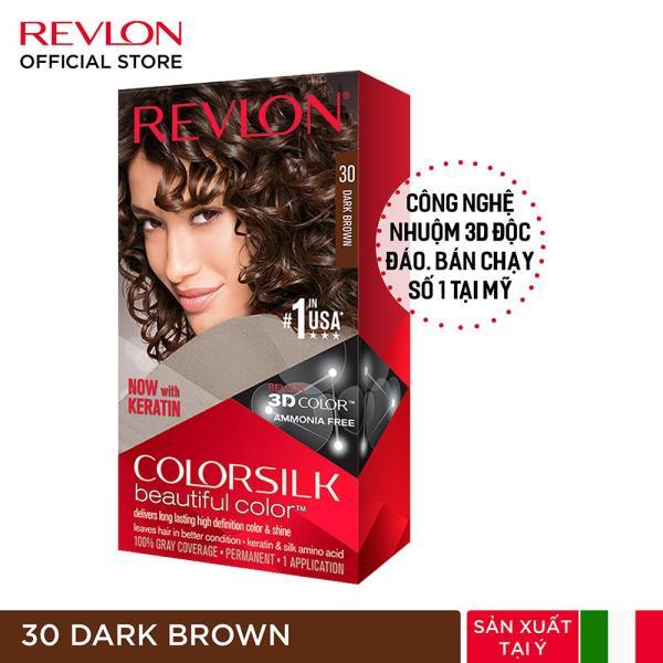 Nhuộm tóc thời trang Revlon Colorsilk 3D nhập khẩu