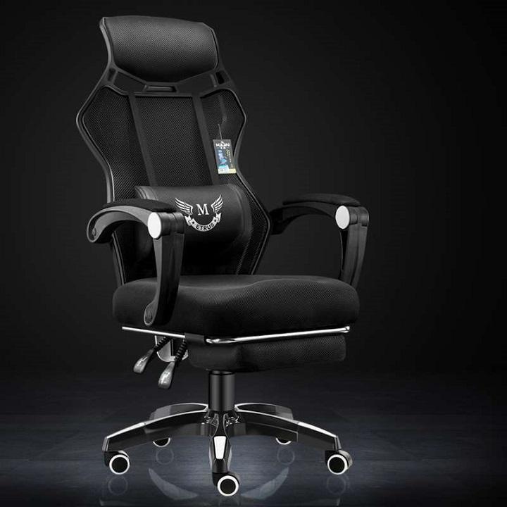 Ghế game CM-909 ngả lưng, điều chỉnh chiều cao, thiết kế độc đáo giá rẻ