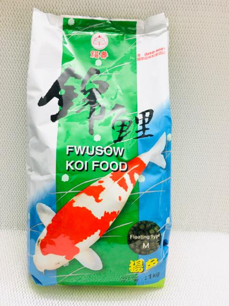 Thức ăn tăng màu FWUSOW KOI FOOD dành cho cá Koi - 1kg