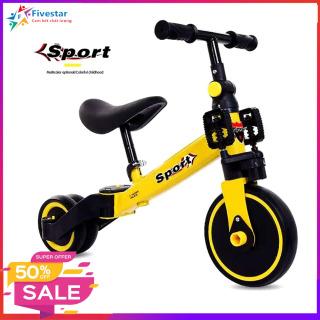 Xe chòi chân 3 in 1, Xe đạp cân bằng, giúp cho bé khả năng vận động rèn luyện sức khỏe trong giai đoạn phát triển thumbnail
