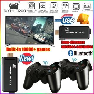 Tặng khẩu trang y tế Máy Chơi Game Điện Tử 4 Nút Game Stick 4K HDMI 3500+ 10000+ Trò Chơi, Kết nối HDMI, 4K kết nối với ti vi, máy tính Tặng kèm thẻ nhớ TF 32Gb - Game 621 Trò HDMI thumbnail