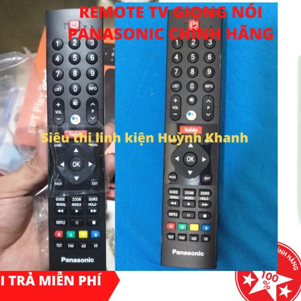 Bảng giá REMOTE TV GIỌNG NÓI PANASONIC CHÍNH HÃNG BỀN ĐẸP