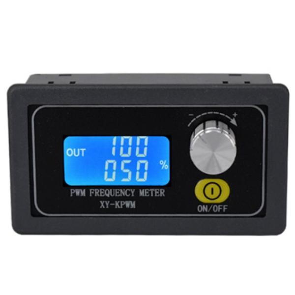 PWM Pulse Frequency Duty Cycle Adjustable Square Wave Signal Generator Module 1HZ-150KHZ Signal Generator LCD Display