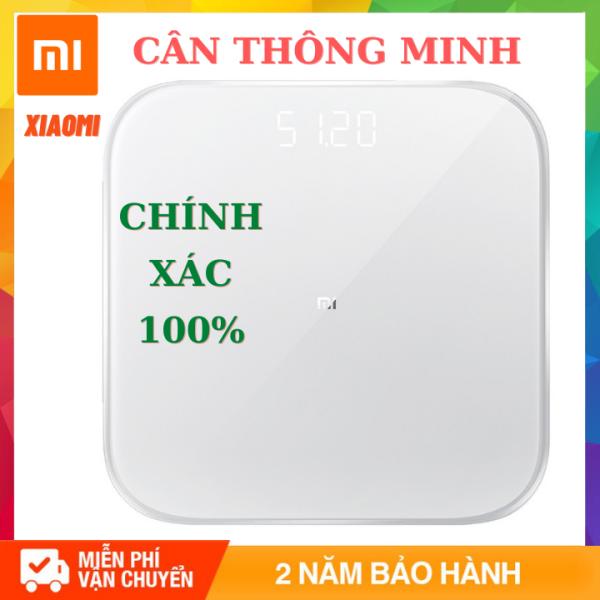 (Bảo Hành 12 Tháng) Cân điện tử thông minh Xiaomi Smart Scale 2 Chuẩn xác 100% nhập khẩu