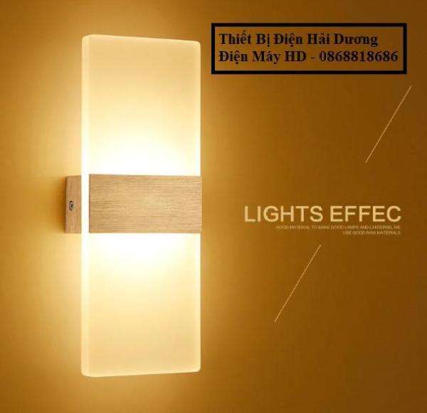 Đèn Led Gắn Tường Decor Hình Khối Chữ Nhật TN140 - 3 chế độ ánh sáng Trắng/Vàng/Trung Tính