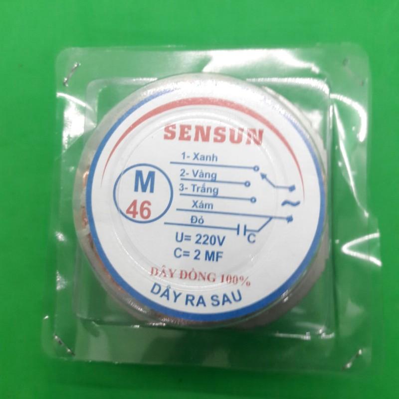 Cuộn dây quạt hộp B3/B4, lốc quạt hộp B3-46/ B4-46 - Tròn ( 100% đồng ) - Điện Việt