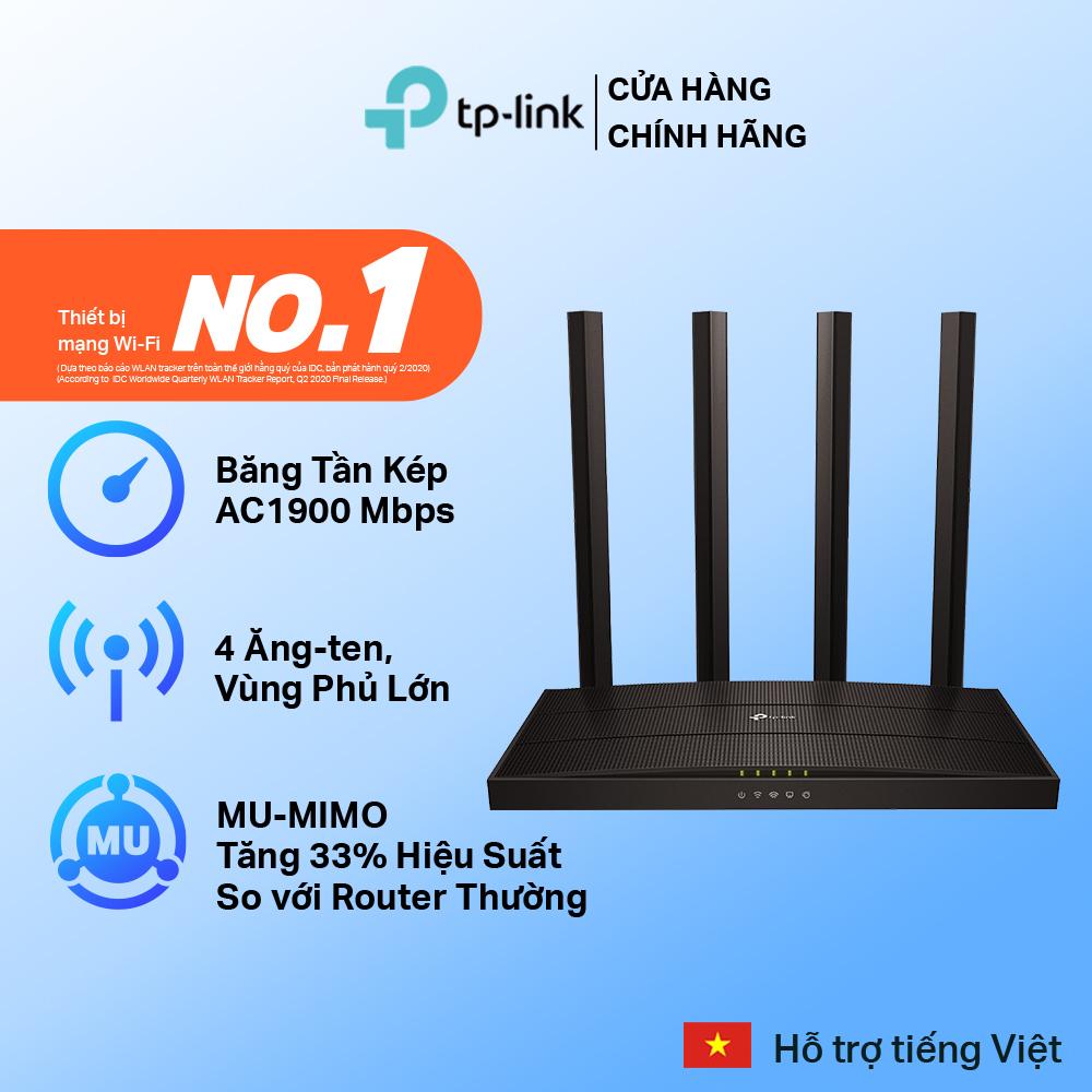[Router Cao Cấp]Bộ Phát Wifi TP-Link Archer C80 MU-MIMO 3x3 Băng Tần Kép AC1900 - Hàng Chính Hãng