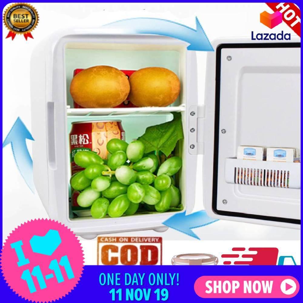 Bảng giá 【Sự kiện chào năm mới】[[Vận chuyển trong 24 giờ]] 4 lít Nhỏ Gọn Làm Mát/Ấm Tủ Lạnh Mini cho Xe Ô Tô Chuyến Đi Nhà Dorms Điện máy Pico