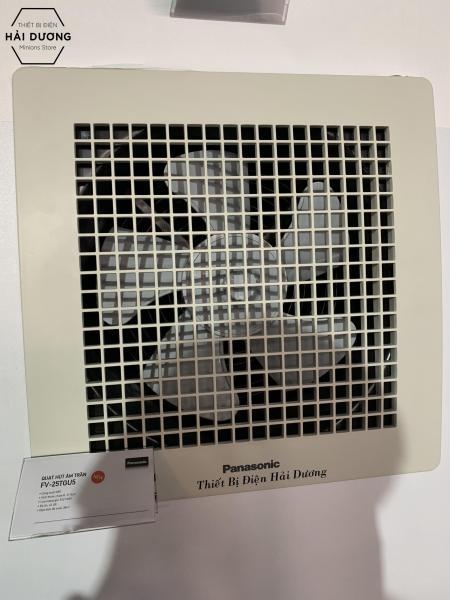 Quạt hút thông gió âm trần Panasonic FV-25TGU5 - Khoét lỗ vuông 31.5cm - Bảo hành 1 năm