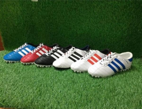 [Lấy mã giảm thêm 30%] giày đá bóng ✨  tặng tất ✨ giày đá bóng sân cỏ nhân tạo đã khâu 100%