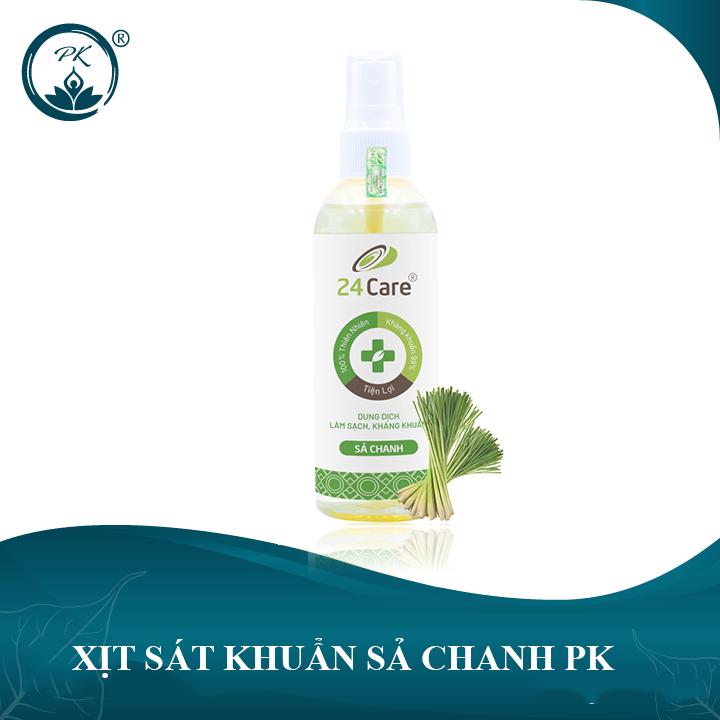 Xịt sát khuẩn Sả Chanh PK - làm sạch, kháng khuẩn nhập khẩu