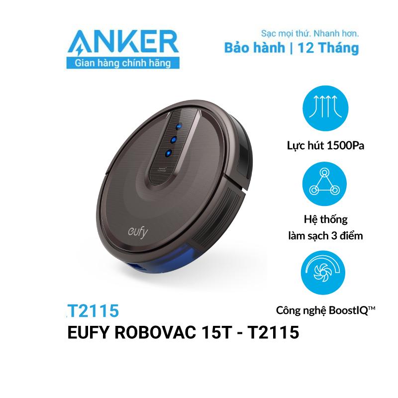 Máy Hút Bụi Eufy RoboVac 15T (by Anker) - T2115