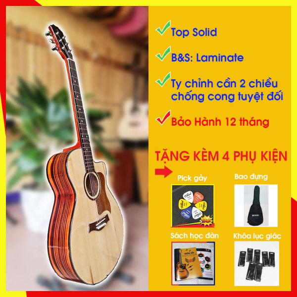 Guitar Acoustic có ty chỉnh cần - Hero Basic B2-A