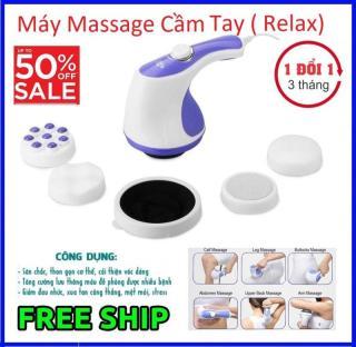 Máy Massage Cầm Tay RELAX TONE Chính Hãng.Máy Massage Cầm Tay RELAX TONE Chính Hãng. Máy massage bụng cầm tay Relax & Spin Tone A781 ( BẢO HÀNH 1 ĐỔI 1) thumbnail