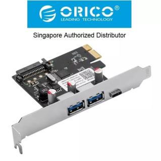 Thẻ mở rộng 2 USB 3.0 giao diện PCI Type-C chính hãng ORICO PNU-2A1C thumbnail