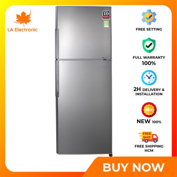 Trả Góp 0% - Tủ Lạnh Sharp Inverter 314 lít SJ-X316E-SL - Miễn phí vận chuyển HCM