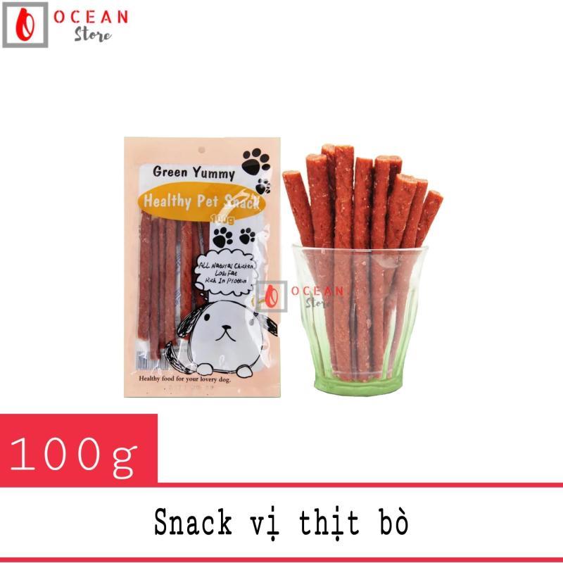 Bánh thưởng cho chó vị thịt bò cây - Snack 06