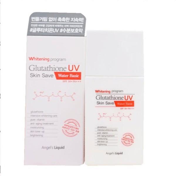 Kem Chống Nắng Angel's Liquid Whitening Program Glutathione UV Skin Save 50ml